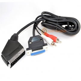 Commodore Amiga RGB Scart Cable