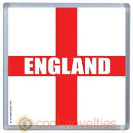 England St George's Flag Novelty Mat Coaster