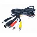 Sinclair Spectrum 128 +2 Grey Model RCA Audio/Video Cable