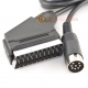Amstrad CPC 464 & 6128 (Plus Models) RGB Scart Cable