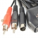Atari Jaguar S-Video with Stereo Audio Cable