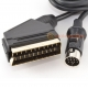 Atari ST Quality RGB Gold Scart Video Cable
