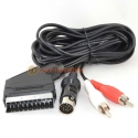 Atari STe RGB Scart Video Cable with Stereo Audio