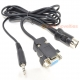 Atari ST VGA Monitor Adapter Cable with Audio