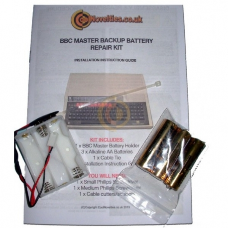 BBC Master Replacement CMOS Battery Repair Kit