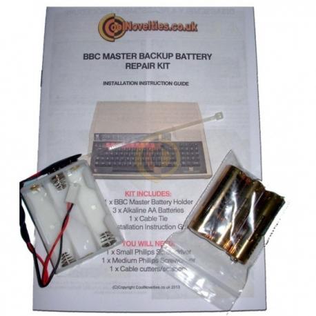 BBC Master Replacement CMOS Battery Repair Kit