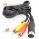 Commodore C16, C64, C128 & Vic 20 RCA Video Cable