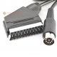 Commodore C64 & C128 S-Video Scart Cable