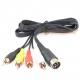 ommodore C64 & C128 Chroma, Luma & Audio Cable