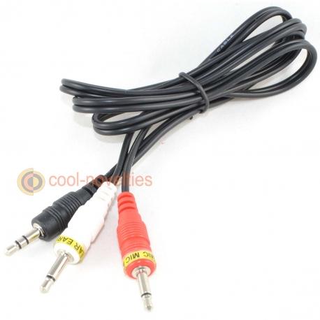 Sinclair Spectrum 128 +3 Tape Cassette Loading Cable