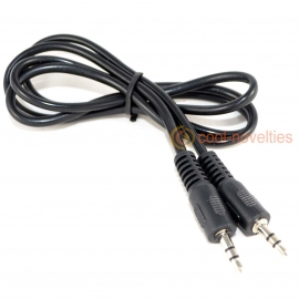3.5mm Jack Plug to 3.5mm Plug Audio Interconnect Cable
