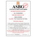 Pisshead - Novelty ASBO Certificate