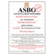 Novelty ASBO Certificate for the Offence of:  Being a Pisshead