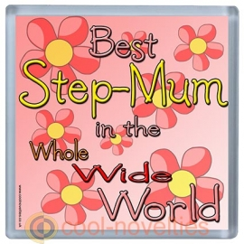 Best Step-Mum in the Whole Wide World Coaster