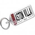Aston Villa Novelty Number Plate Keyring