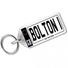 Bolton Wanderers  Novelty Number Plate Keyring