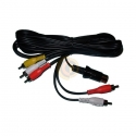 Atari STe Composite RCA Audio/Video Cable