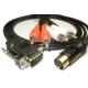 Atari STe to Atari SC1435 Colour Monitor Cable