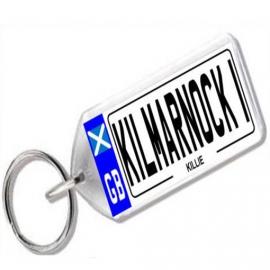 Kilmarnock Novelty Number Plate Keyring