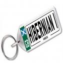 Hibernian Novelty Number Plate Keyring