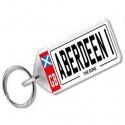 Aberdeen Novelty Number Plate Keyring