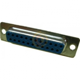 23 Way D-Sub Female Socket Connector