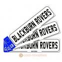 Blackburn Rovers Novelty Number Plate Bookmark