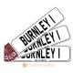 Burnley Novelty Number Plate Bookmark
