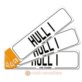 Hull 1 Novelty Number Plate Bookmark