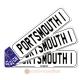 Portsmouth Novelty Number Plate Bookmark