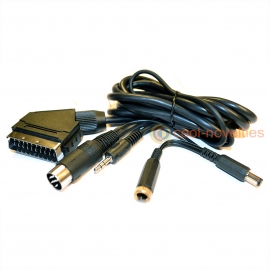 Amstrad CPC 464 & 6128 Active RGB Scart Cable