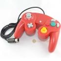 Red Nintendo Gamecube Gamepad / Wii Classic Controller