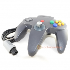 Black Nintendo N64 Controller / Gamepad