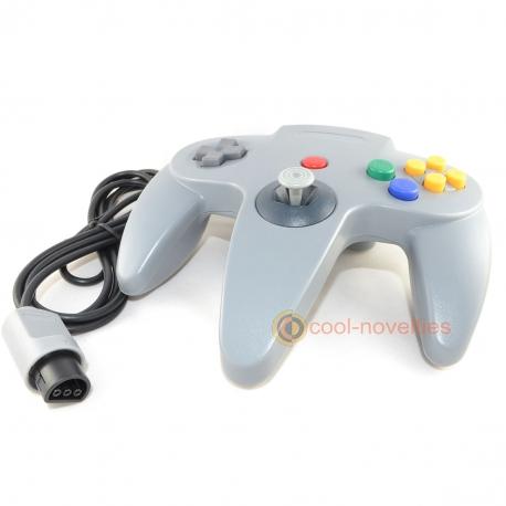 Grey Nintendo N64 Controller / Gamepad
