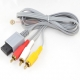 Nintendo Wii RCA Audio/Video Cable with Gold Plugs