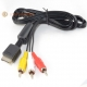 Sony Playstation PS1, PS2 & PS3 RCA Audio/Video TV Cable