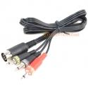 MSX Compatible Computer Cassette Cable