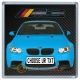 Blue BMW M3 Personalised Coaster / Beer Mat