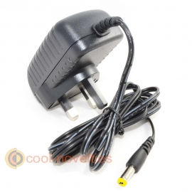Sega Mega Drive 2 & Genesis 2 Replacement UK Mains Power Supply