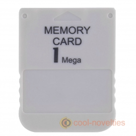 Sony Playstation 1, PS1 PSX 1MB Memory Storage Card