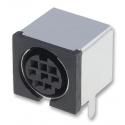 8 pin Mini-DIN Socket (Shielded) PCB Mount