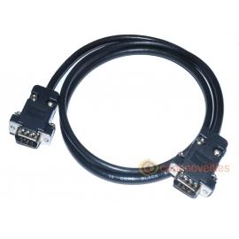 Commodore C128 RGBi 9 Pin Monitor Cable Male-Male