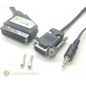 ZX Spectrum Next Analog RGB Scart Cable