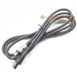 RF Aerial Television Cable for Retro Games Consoles & Computers